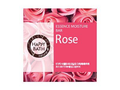 韓國 Happy Bath~玫瑰香皂(80g)
