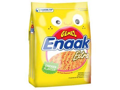 韓國 Enaak~韓式小雞麵-雞汁味(袋裝30gx3包)