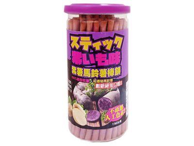 Hamu~紫薯馬鈴薯棒餅(150g)