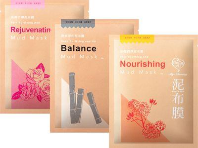 我的心機~亮顏活膚/控油淨化/舒緩潤澤 泥布膜(單片入)3款可選