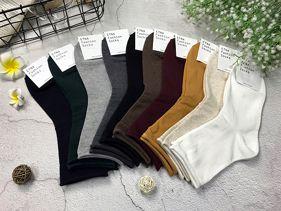 韓版 素面捲邊襪/小點點造型襪/素面四分襪/造型四分襪/牛仔褲造型襪 (1雙入) 多款可選