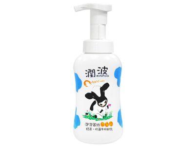 Rinpoo潤波~泡泡慕絲洗手乳(綠茶抗菌牛奶)300ml